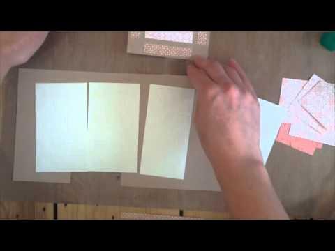 Tea Box DIY Gift Tutorial using Close to my Heart Balloon Ride Paper