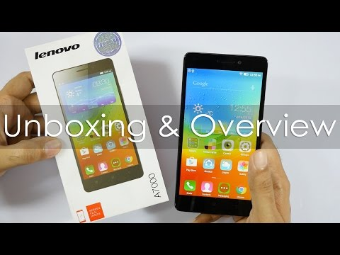 Lenovo A7000 Unboxing & Hands On Overview