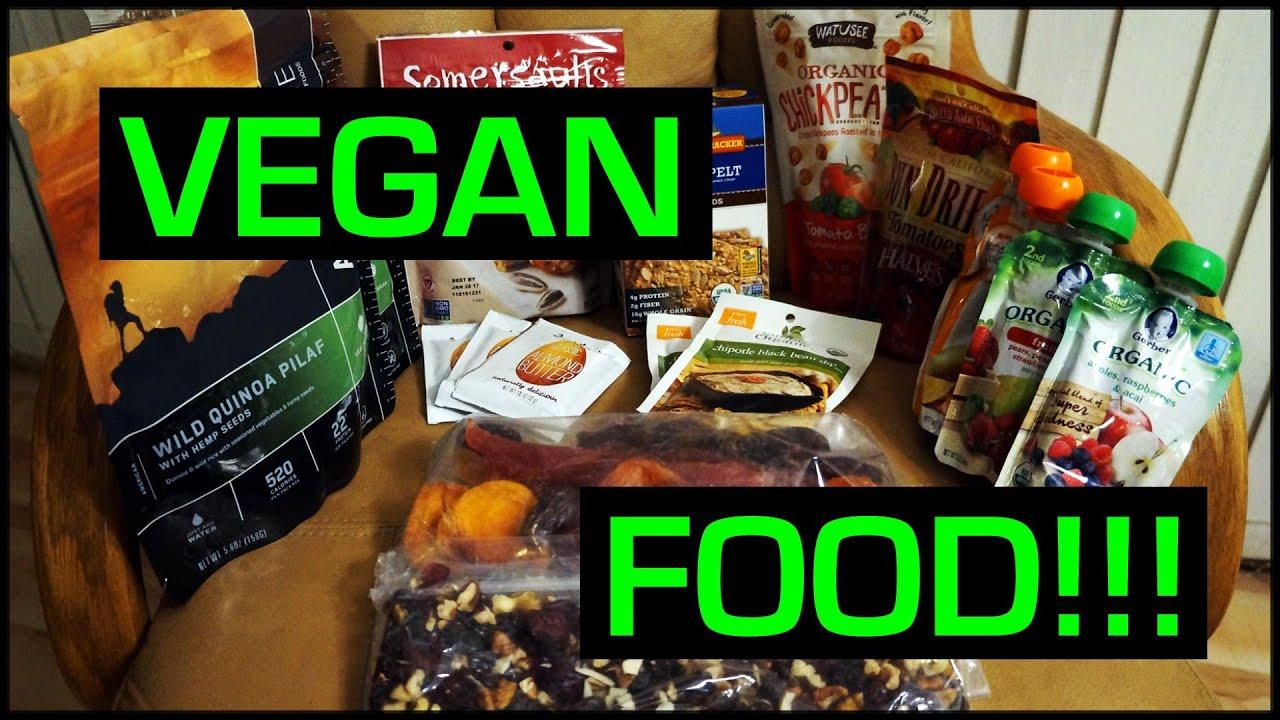 Vegan Backpacking Food Ideas