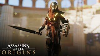 Assassin's Creed Origins - Isu Armor Outfit Gameplay (Secret Legendary Outfit)