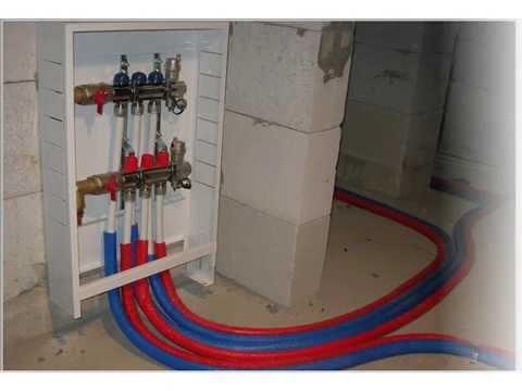 Что такое Коллектор (гребенка, система распределения) для систем отопления