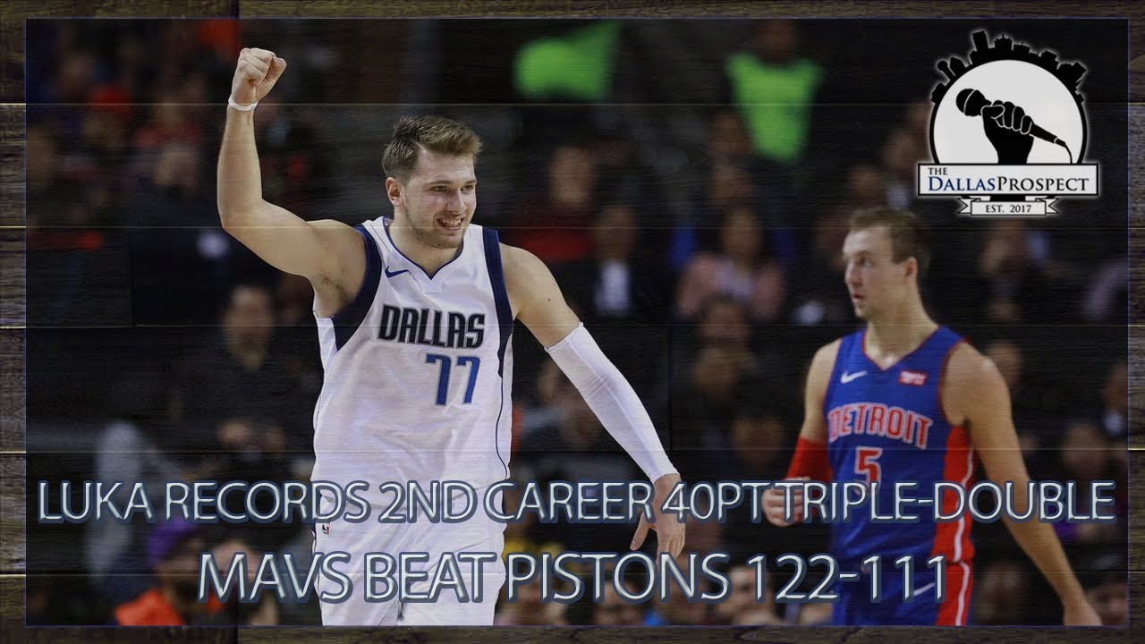 Luka Doncic makes history in Mexico City as Mavericks defeat Pistons