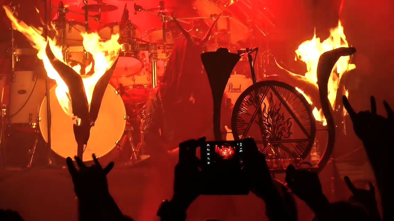 Download Behemoth LIVE 2014 10 08 Cracow Fabryka Poland O Father O Satan O Sun