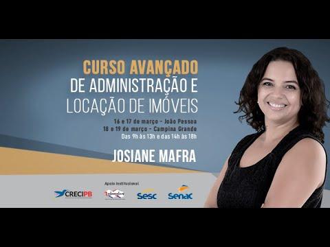 Chamada para o Curso Avançado de Administração e Locação de Imóveis com Josiane Mafra