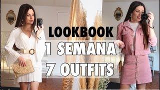 OUTFITS transición PRIMAVERA - VERANO (1 Semana 7 Outfits) LOOKBOOK   Bstyle