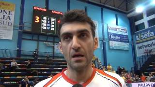13-11-2016: Olteanu nel post Molfetta - Modena 3-1