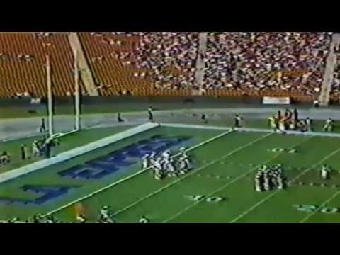 Week 1 - 1983:  New Jersey Generals vs Los Angeles Express
