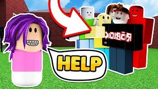 KIDNAPPED BY HACKERS IN ROBLOX ADOPT AND RAISE A CUTE KID!! (Roblox Roleplay)