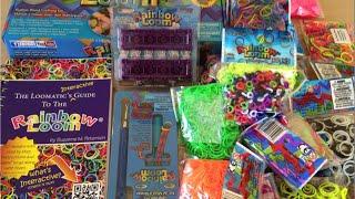 Посылка Rainbow Loom, резинки, станки, схемы, крючки. Где купить резинки для плетения браслетов(, 2015-07-12T13:44:04.000Z)