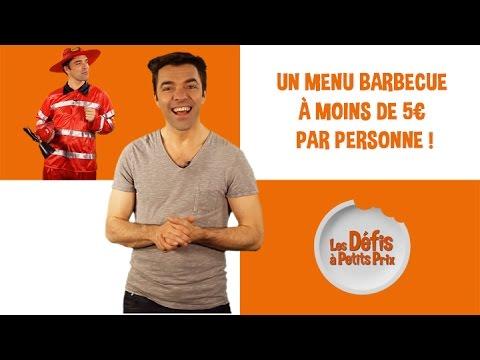 Menu barbecue à 5 € par personne - Défis à Petits Prix