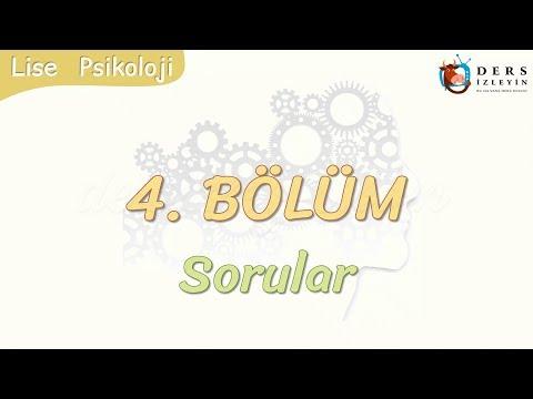4. BÖLÜM / SORULAR