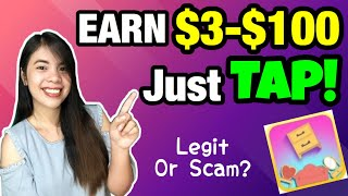 EARN FREE $100 [P5000] JUST TAP! KUMITA GAMIT ANG CELLPHONE | New Puzzle Game App | Legit or Scam?