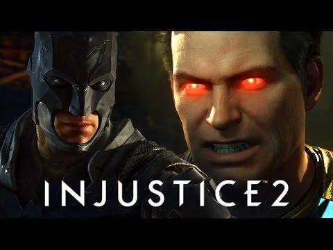 INJUSTICE 2 - FINALMENTE GAMEPLAY E JÁ COMEÇA COM BATMAN VS SUPERMAN!