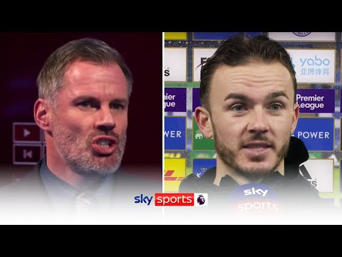 James Maddison reveals he listened to Jamie Carragher's criticism from earlier this season