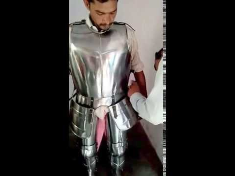medieval wearable knight crusador full suit of armor collectible