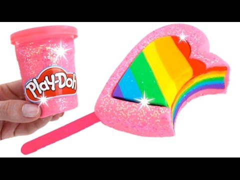 Thumbnail: DIY How to Make Play Doh Heart Popsicle Modelling Clay Learn Colors RainbowLearning
