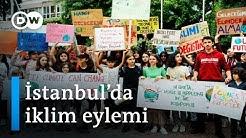 İstanbullu çocuklardan İsveçli iklim aktivisti Greta'ya destek - DW Türkçe