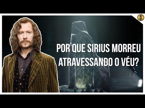 Por que SIRIUS BLACK morreu quando atravessou o véu em Harry Potter?