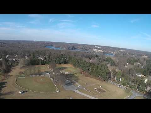 Drone View - Springton Lake Middle School and Media Little League Fields