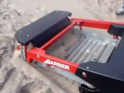 SAND MAN Beach Cleaner Purifies the Beach