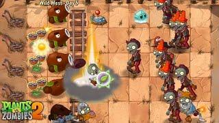 Plants vs. Zombies™ 2 - PopCap Wild West Day 5-7