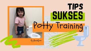 TIPS SUKSES Potty Training Anak 2 tahun | SIMPLE tapi MANJUR CARA LATIHAN POTTY TRAINING Anak Batita