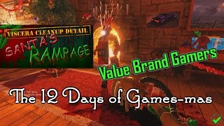 The 12 Days of Games-mas! [Day 3] Viscera Cleanup Detail: Santa's Rampage! [Part 1] LET'S CLEAN!