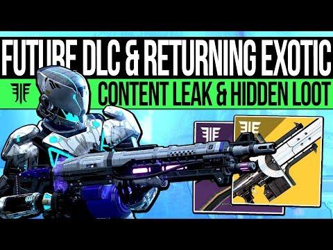Destiny 2 | FUTURE EXOTICS & HIDDEN REWARDS! Thunderlord, Quest Update, New Content & DLC Leak?