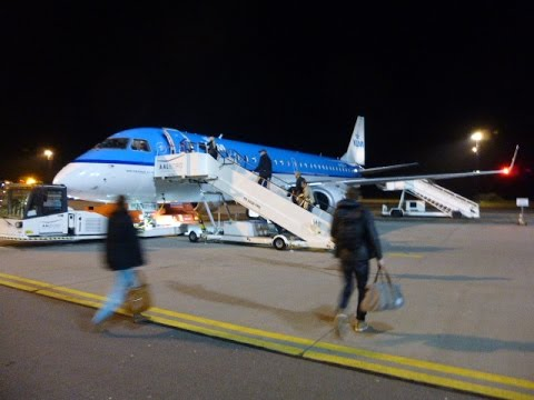 KLM Cityhopper / Aalborg - Amsterdam - Brussels / Economy comfort / Embrear 190 / DEC2015
