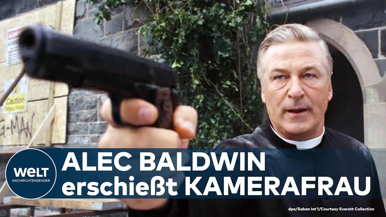 "Download TÖDLICHER UNFALL: Hollywood-Star Alec Baldwin erschießt Kamerafrau am ""Rust""-Filmset | WELT Thema"