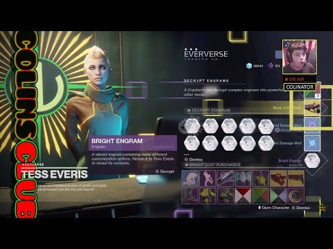 Destiny 2 Birthday Stream (Part 1) Purchasing Silver too