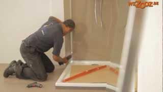 Inloop douche plaatsen - Lafiness
