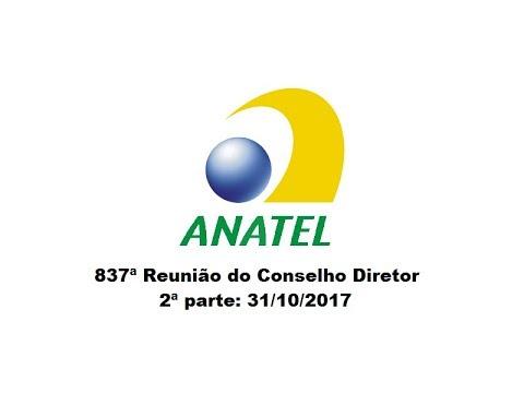 837ª Reunião do Conselho Diretor, continuação em 31/10/2017 (2ª parte)