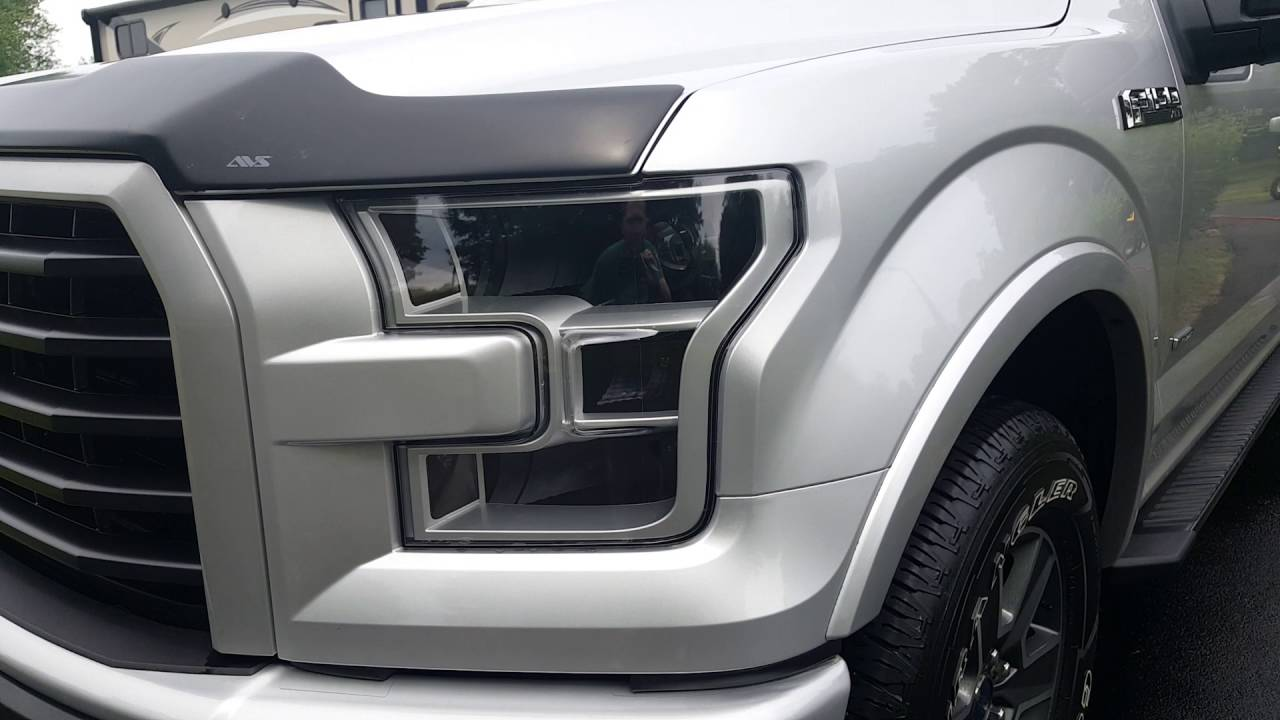 small resolution of ford f150 headlights 2016 ford f150 ecoboost new hid headlights youtube