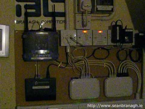 For Rj 45 Wiring Diagram Home Network Tour Part 2 The Hardware Youtube
