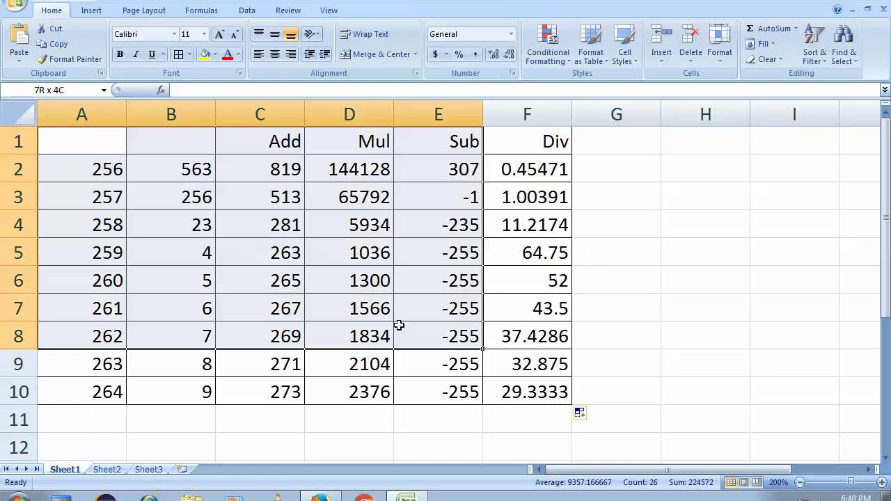 Microsoft excel 2007 tutorial full in english in 15 min youtube microsoft excel 2007 tutorial full in english in 15 min publicscrutiny Choice Image