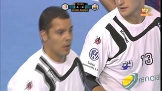 Xxv edición de la supercopa asobal 2010/11, celebrada en el pabellón vista alegre ciudad córdoba 5 septiembre 2010. disputaron este encuent...