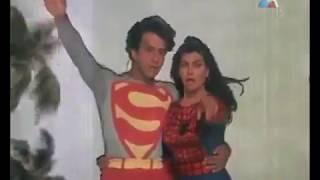 superman y la mujer araña? bailando? XD