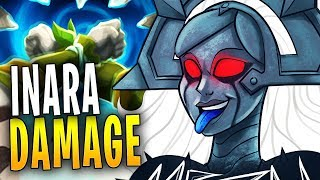 INARA DAMAGE IS INSANE! | Paladins Gameplay