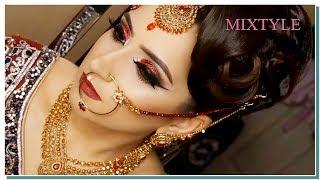 Традиционный индийский свадебный макияж ❤ Сказочная невеста из Индии 1⃣