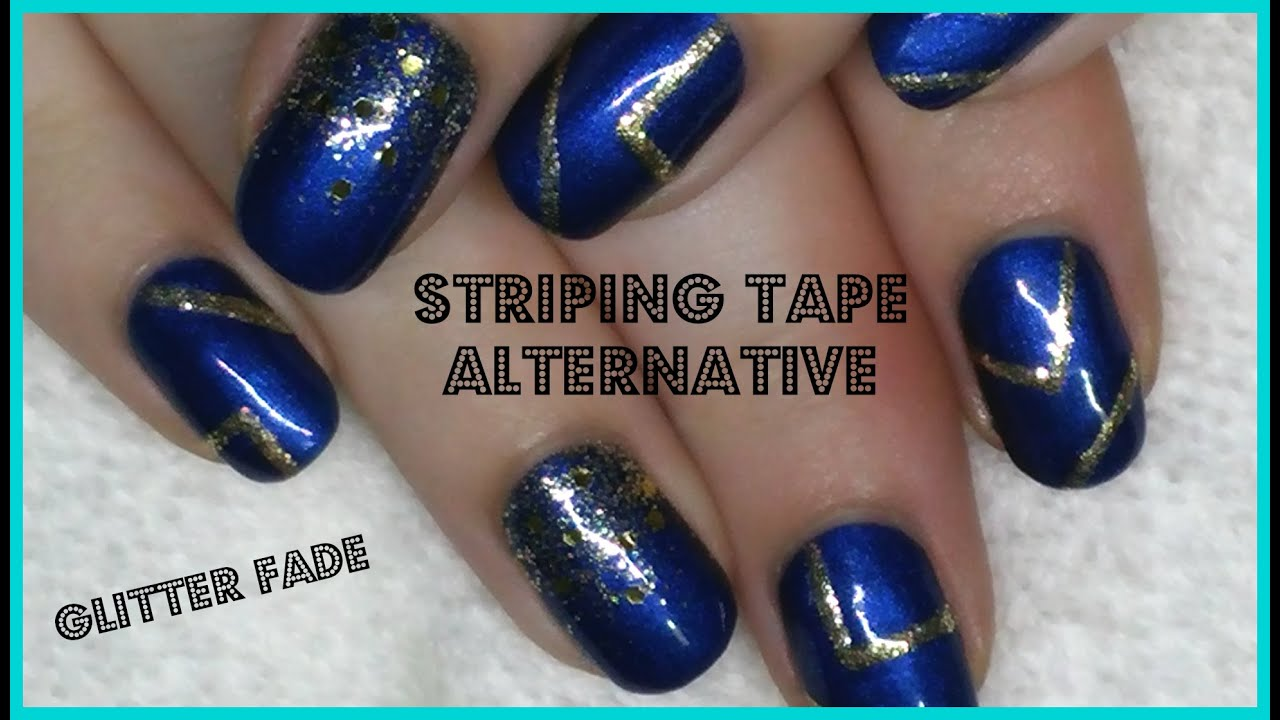 nail art striping tape alternative