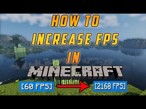 HOW TO DOUBLE YOUR FPS IN MINECRAFT 1 8 9!!!! (HYPIXEL BOOST