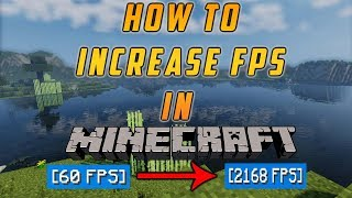 How to Increase FPS in Minecraft | 1000 FPS! | Best Methods