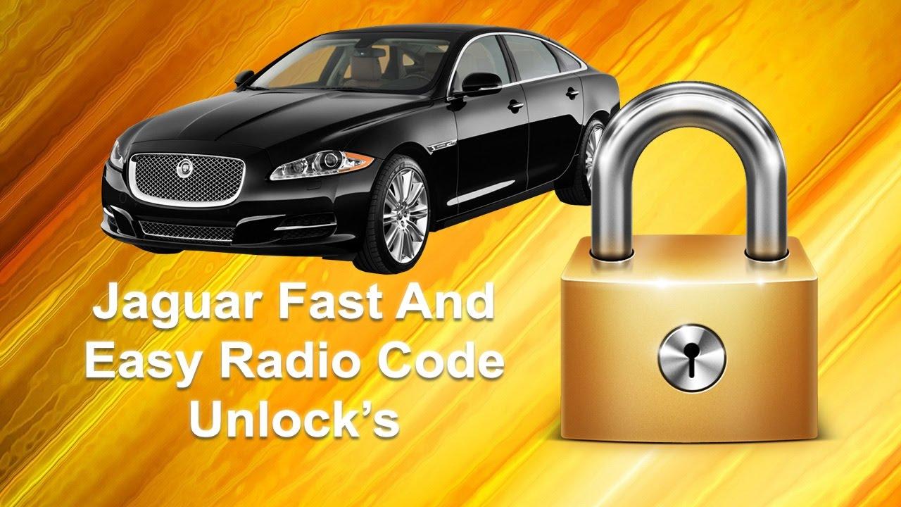 How To Find Your Jaguar Radio Code Serial Unlock