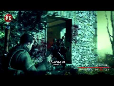 Sniper Elite: Nazi Zombie Army. Видеообзор