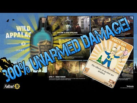 NukaShine 300% UNARMED Damage Increase WHAT CAN GO WRONG? Fallout 76 thumbnail
