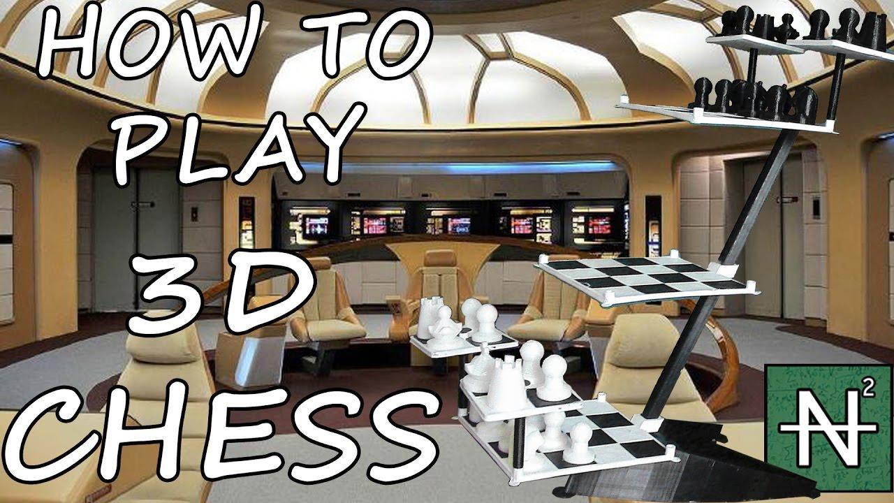 How To Play Star Trek 3d Chess