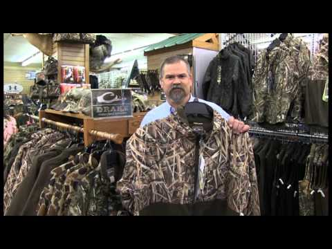 Jimmy, Our Camo Expert Quacks About Drake Waterfowl Jackets!