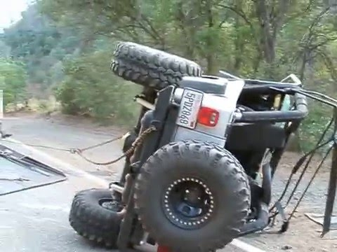 Flipping The Jeep Over Youtube