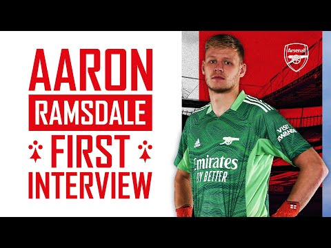 Welcome to Arsenal, Aaron Ramsdale!  |  First interview